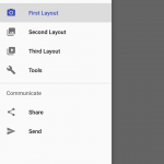 Android : How to Add a Navigation Drawer and Implement Fragment
